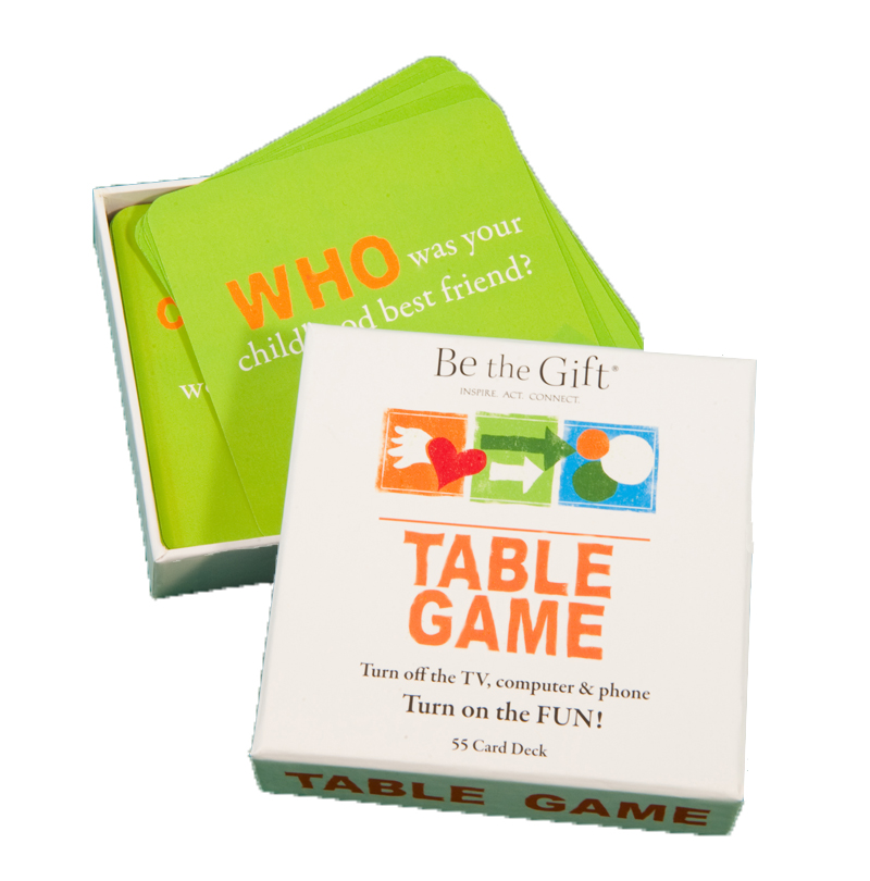 Be the Gift Table Game
