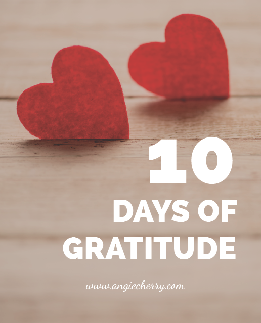 Gratitude Challenge with Angie Cherry