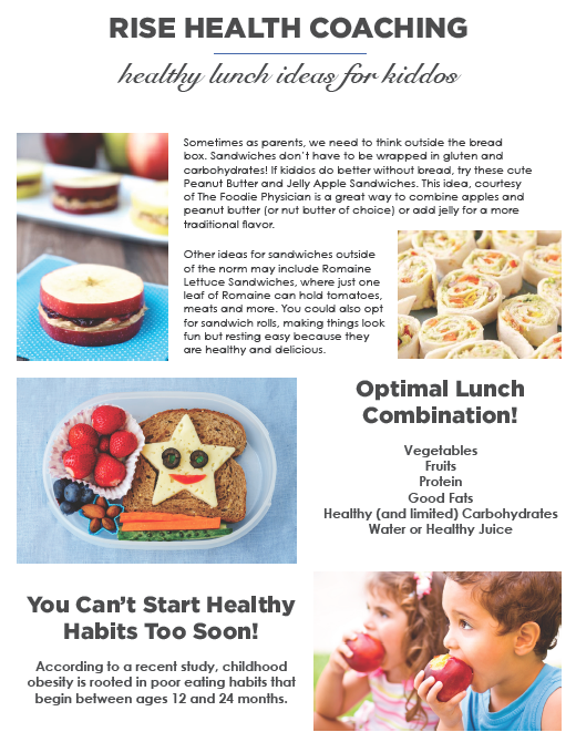 Healthy Lunches with Angie Cherry